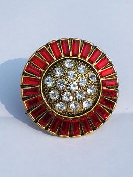 Bead & Stone Ring