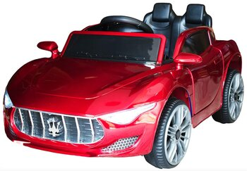 PATOYS  Battery Operated Ride on Remote Cars (Painted Maserati, Red)