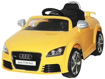 Pa Toys Licensed Version Audi TT Rs Plus 12v Ride On Kids Car 676R (Yellow)