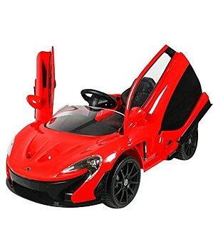 PATOYS Licensed McLaren P1 ride on car for kids (Red)