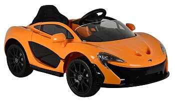 PATOYS Licensed McLaren P1 ride on car for kids (Orange)