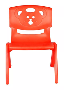 PA Toys Magic Bear chair for kids (orange)