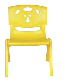 PA Toys Magic Bear chair for kids (yellow)