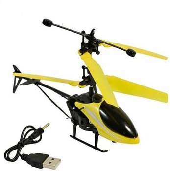 PATOYS Infrared Induction  3D Helicopter Durable King and Lights (Color May Very)
