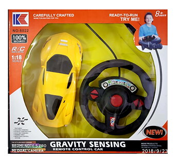 PA Toys Remote control car (yellow)