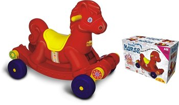 PATOYS Derby Horse - 50650 Rock & Swing Ride On for Kids (Color May Very)