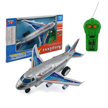 PA Toys Airplane Toy for Kids with Remote Control (Multicolor) 77815