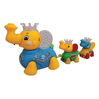 PATOYS Battery Operated Cuteelphant Clever Elephant Train 903A (Color may very )