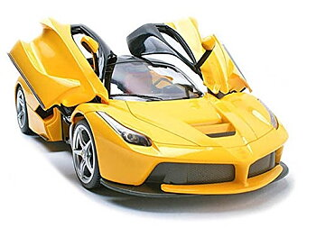 PA Toys 1:16 Rechargeable Remote Controlled Super Car (Yellow, 3688 K1A)