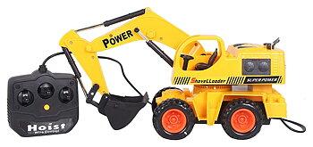 PA Toys XIONGDA Excavator Trucks ( JCB), Yellow (XD6825A)