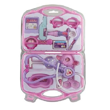 PATOYS Cittile doctor set 12 Pcs Kit Toy For Kids (PINK)