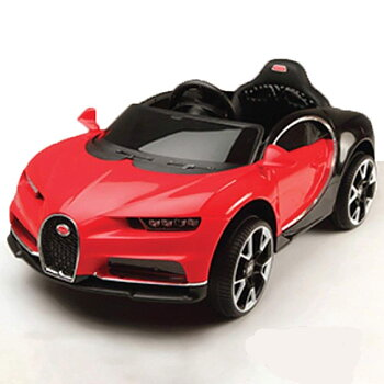 PAToys BDQ 1188 Battery Operated Ride on Car for Kids with 3 Speed Options, Handle Adjustable and Remote Control, Red