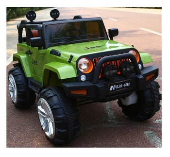 PA Toys Kids Ride on Jeep (KN-6688)  with Two Motors and 12V Battery (color may very )