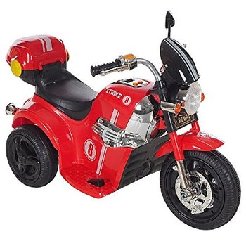 PAOYS Samurai battery operated ride on Stylish Tri-scooter MD-1188 Red