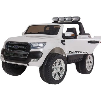 PATOYS Ride on Child electric car, Ford Ranger 24 volt Licensed  2 seats 4x4 -  White