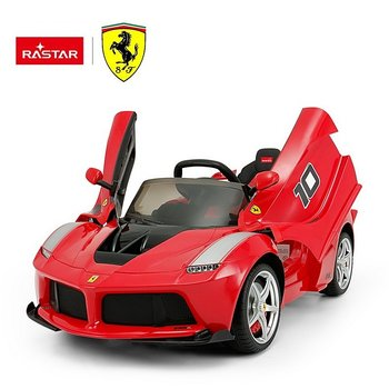 PATOYS 12V Ferrari FXX K Kids Electric Ride On Cars Red