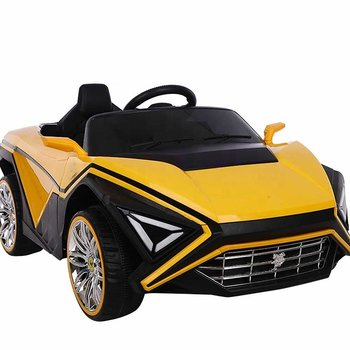 PATOYS 668 Electric Rechargeable Battery Ride on Car for Kids with Dual Door Opening, Swing Option and Led Lights
