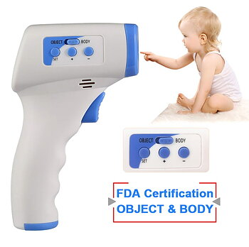 PATOYS Non Contact Baby Body Temperature Scanner Infared Forehead Thermometer