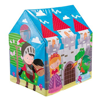 Jungle Fun Cottage Royal Castle Play Tent (Multicolor) - 45642NP