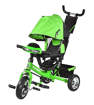 TOYKING Big Eye Tricycle - The Stylish Plug and Play Baby Tricycle for Kids for 1.5 Years to 2,3,4,5 Years with PU Wheels