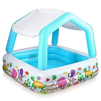 Sun Shade Inflatable baby kids Pool 57470