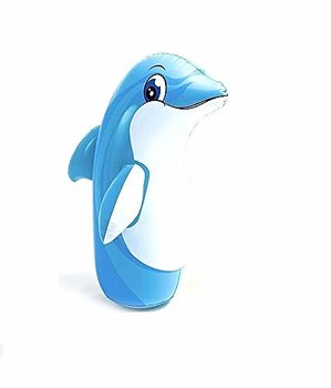 INTEX Water inflatable 3-Dolphin hit me bop bag Toy for Kids
