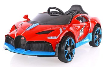 Bugatti Sports 08 Rechargeable Battery Operated Ride-On Car for Kids (2 to 6YRS) Red