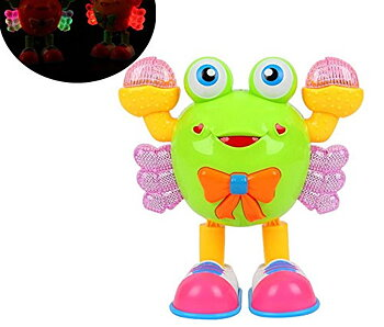PATOYS Best Selling Dance Crab Watermelon Crab Walk Music Box toy for kids